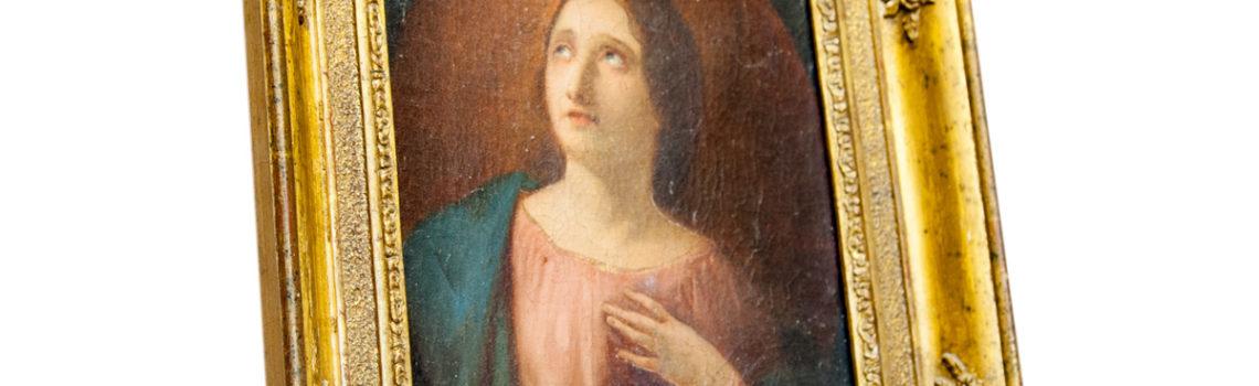 Quadro ritratto femminile