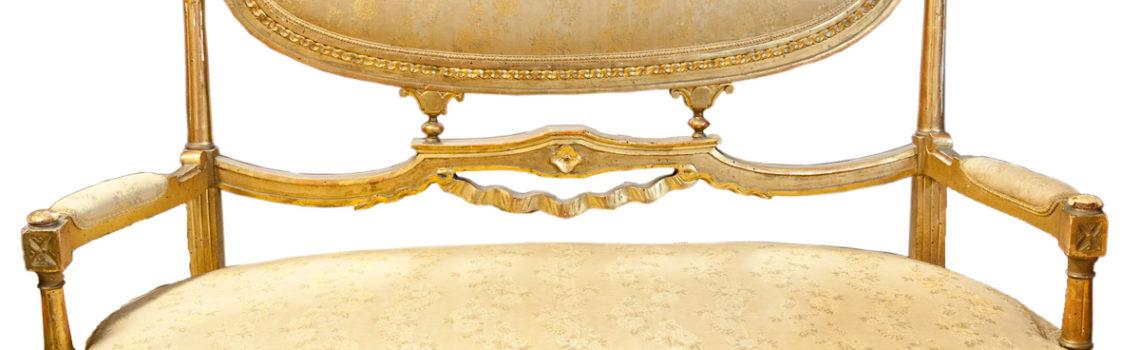 Sofa dorato