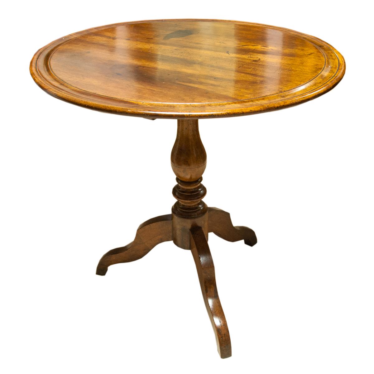 Tavolinetto rotondo pieghevole